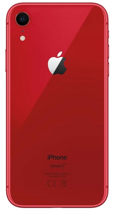Image of   Apple iPhone XR Red 64GB