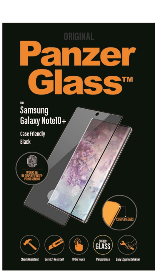 Image of   PanzerGlass til Samsung Galaxy Note 10+ (Plus)