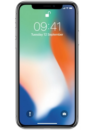 Apple iPhone X 256GB Sølv