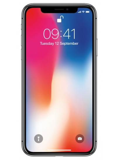 Billig iPhone X 256GB Space Grey / Sort