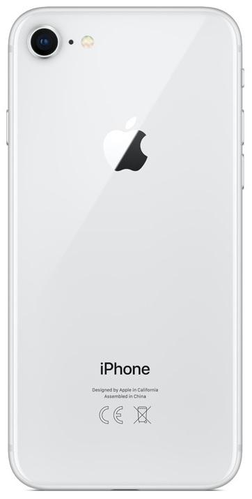 Image of   Apple iPhone 8 256GB Sølv