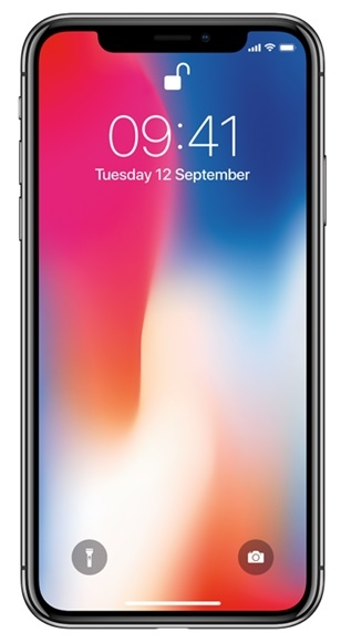 Image of   Apple iPhone X 256GB Space Grey